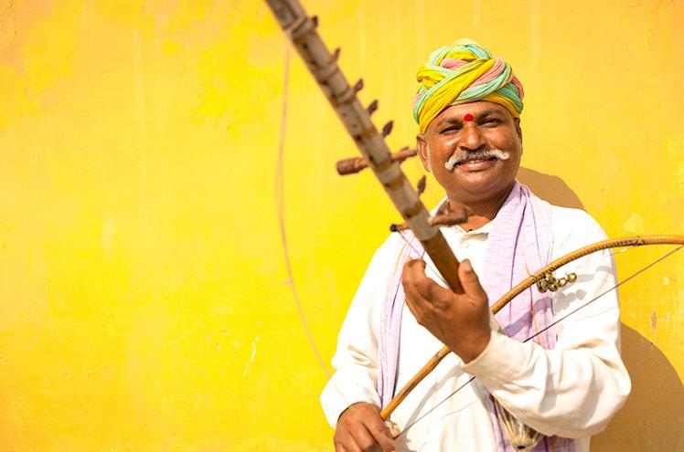 Indian man Jaipur