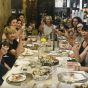 Divas wining with wine