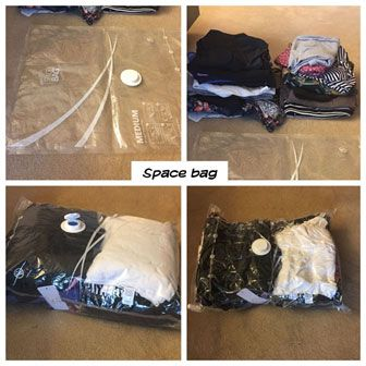 vacuum bags - travel