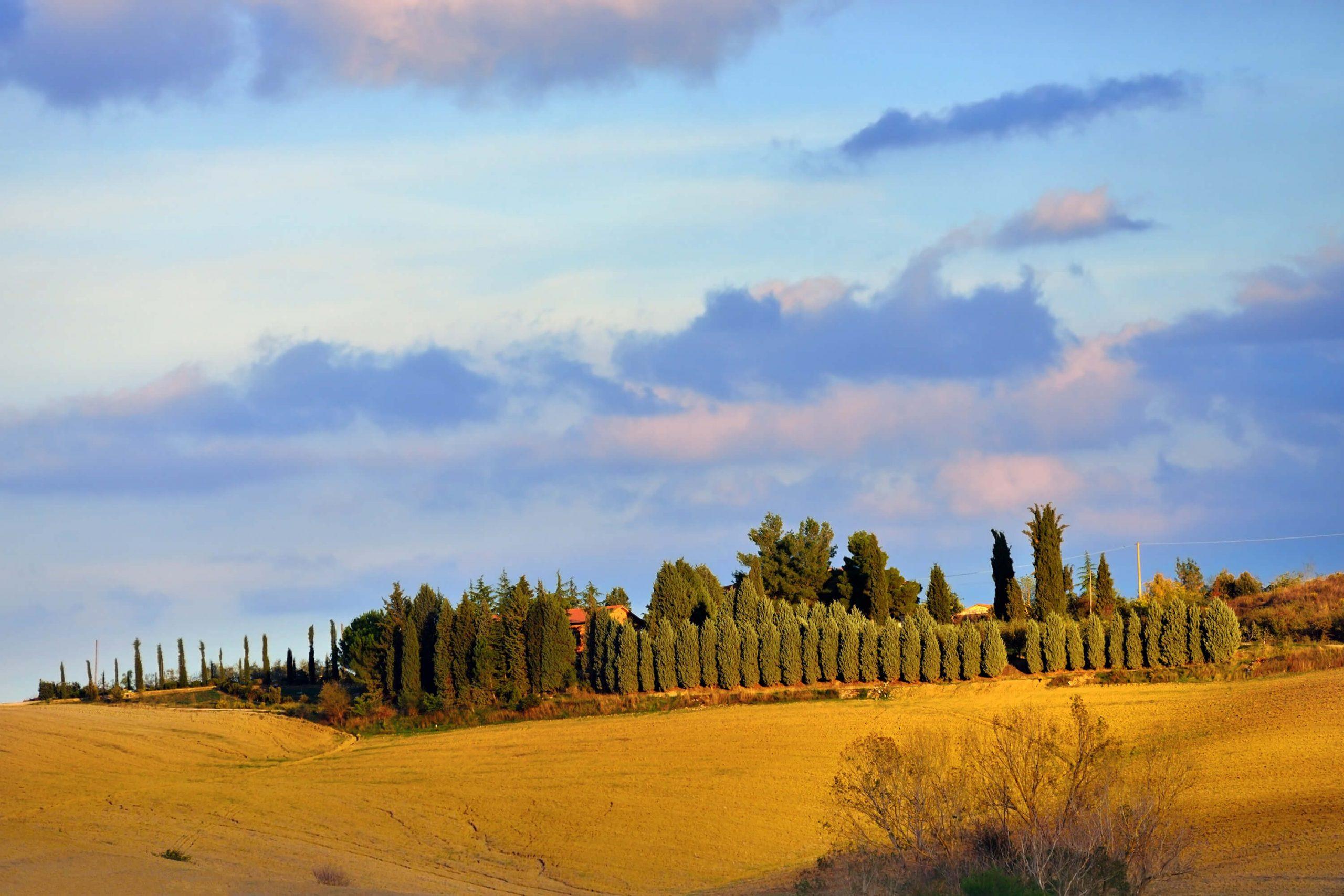 Farmhouse Tuscany copyright Oleg Znamenskiy