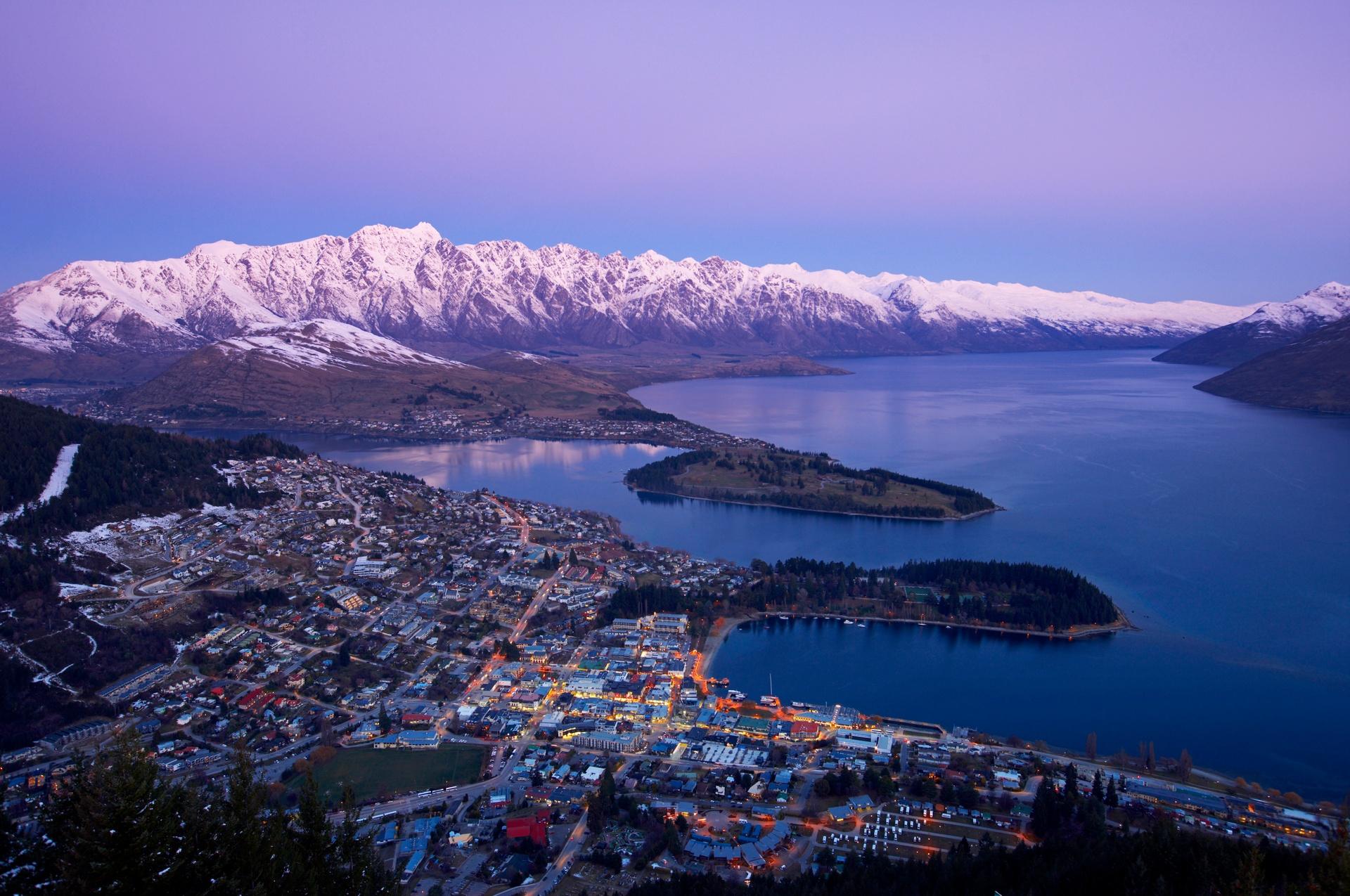 Skiing in NZ